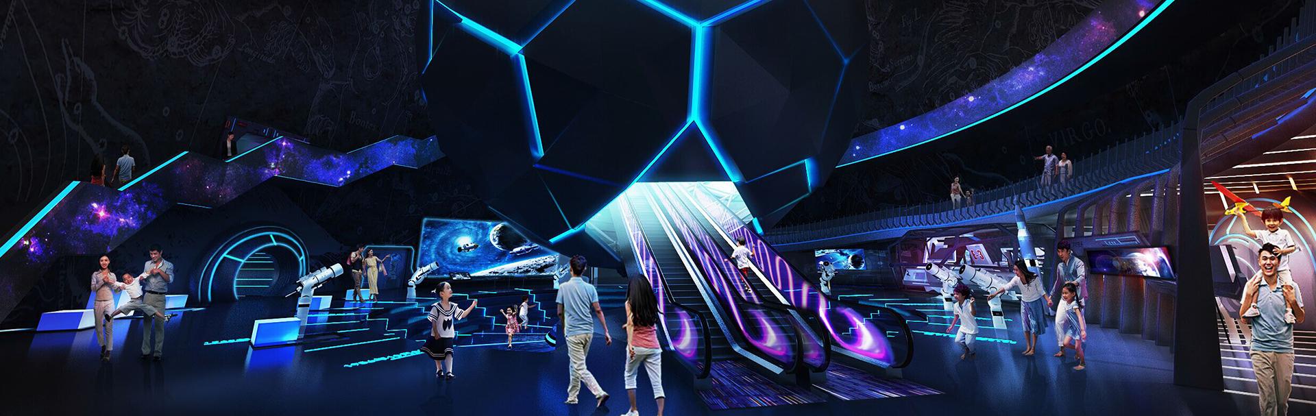 互动多媒体_透明移拉屏_VR虚拟漫游_mapping艺术墙-易普趣